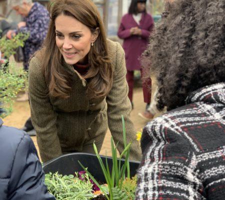 The Duchess talks about gardening