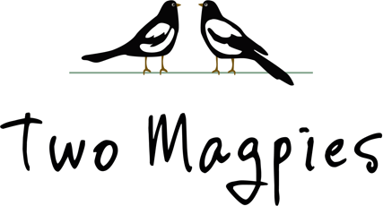 TWO MAGPIES CROPPED